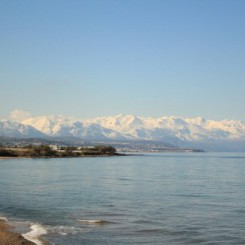 Alkionis Beach am Kretischen Meer