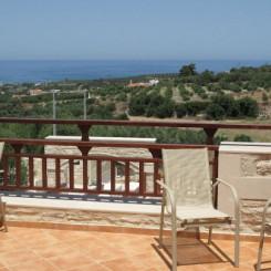 Ferienhaus Villa Erofili über der Bucht von Rethymnon mit 4 Schlafzimmern