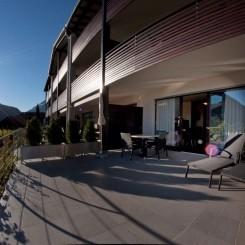 Modernes Apartment Typ Aurum mit Panoramablick auf Meran