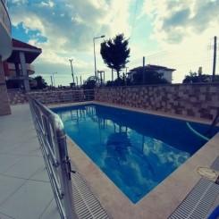 Unsere Villa ist eines der luxuriösesten Häuser mit Blick auf die Ägäis