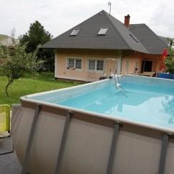 Schönes Ferienhaus in Fonyód mit Pool,Wlan,Spülmaschine
