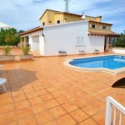Ferienhaus Mallorca Portol mit Pool Wifi 6 Erwachsene + 2 Kinder