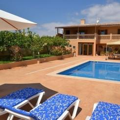 Ferienhaus Mallorca Sillot strandnahe Lage mit Pool 4 Personen