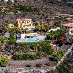 Traumhafte Finca mit Panoramablick inmitten einer grünen Oase in Candelaria - Cuvecitas